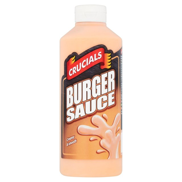Morrisons: Crucials Burger Sauce 500ml(Product Information)