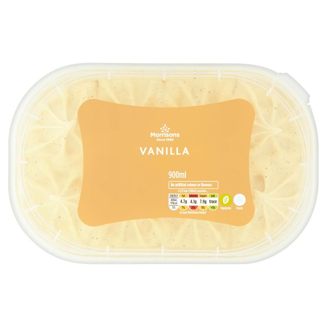Morrisons Vanilla Ice Cream