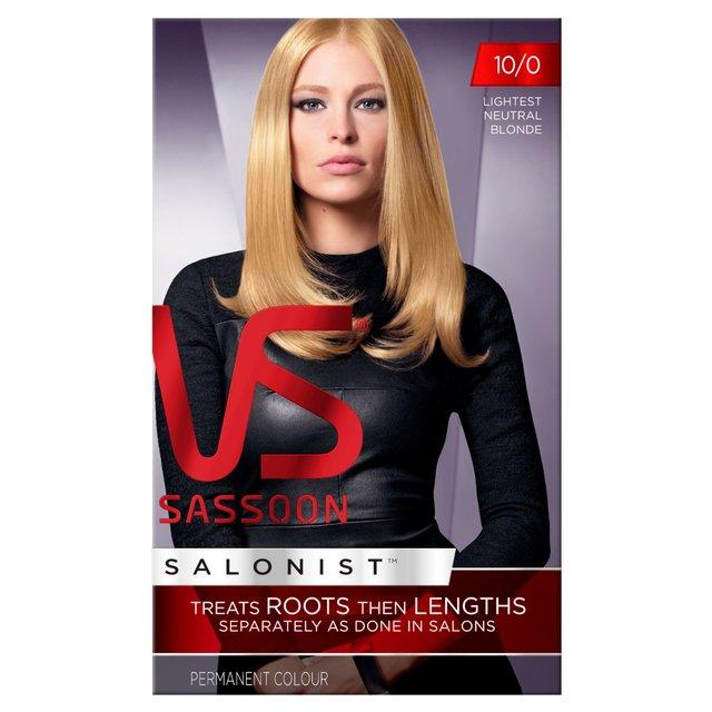 Morrisons vidal sassoon salonist hair colour 10 0 for 2 blond salon reviews
