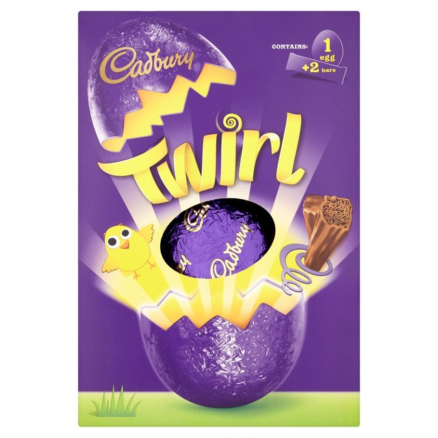 Morrisons cadbury twirl chocolate easter egg 283gproduct cadbury twirl chocolate easter egg negle Image collections