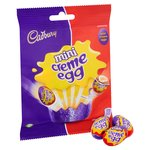 Cadbury Creme Eggs Minis Eggs Bag