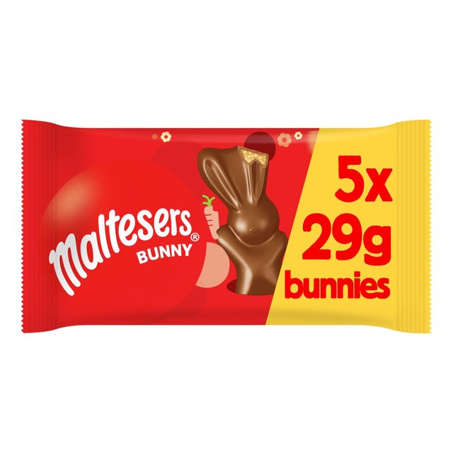Maltesers Chocolate Easter Bunny 5 Pack