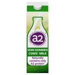 A2 Fresh Semi Skimmed Milk