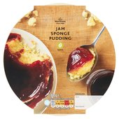 Morrisons Large  Raspberry Jam Pudding