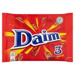 Daim Chocolate Bar 3 Pack