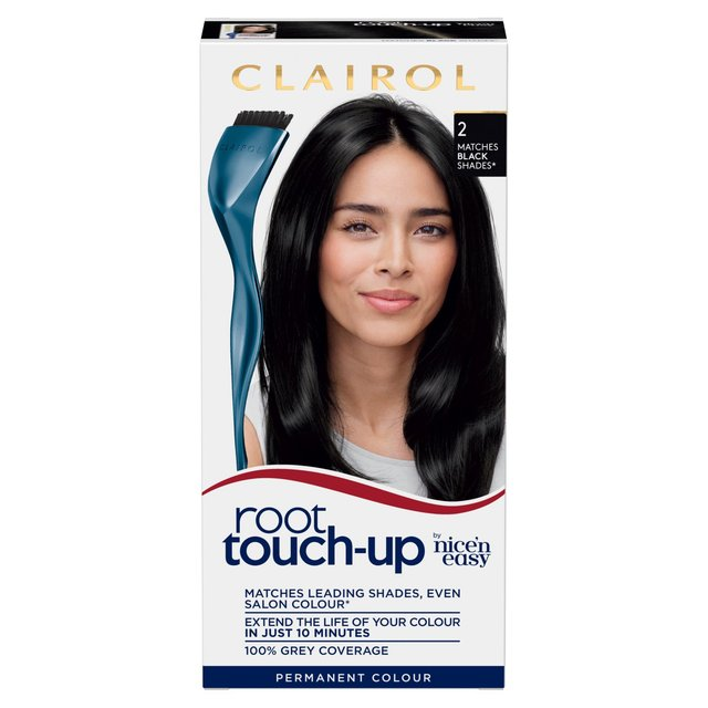 Morrisons: Nice N Easy Root Touch Up Black 3 Hair Colourant (Product ...