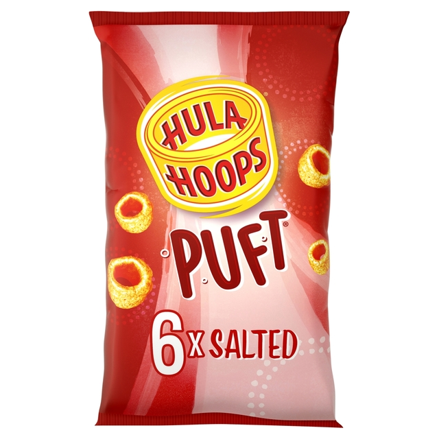 Hula Hoops Puft  Salted 6's