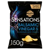 Walkers Sensations Onion & Balsamic Vinegar Crisps