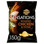 Walkers Sensations Roast Chicken & Thyme Crisps