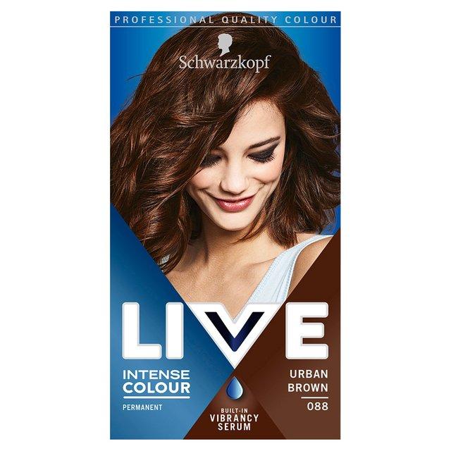 Schwarzkopf Live Intense Colour 88 Urban Brown Hair Dye Morrisons