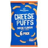 Morrisons Cheese Puffs 6 Pack