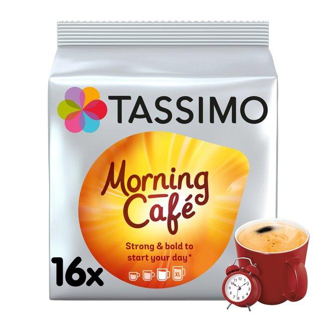 Tassimo Morning Café Coffee Pods 16s