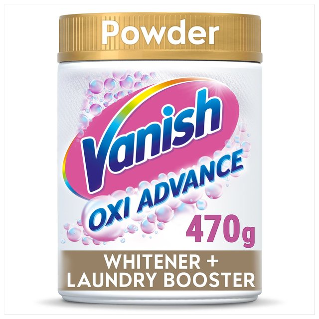Vanish Gold For Whites Powder Fabric Stain Remover 470g