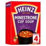Heinz Minestrone Dry Cup Soup 4 Sachets
