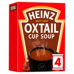 Heinz Oxtail Dry Cup Soup 4 Sachets