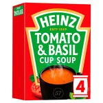 Heinz Cream of Tomato & Basil 4 Sachets