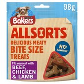 Bakers Dog Treat Chicken and Beef Allsorts