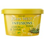 John West Lemon & Thyme Tuna Infusions