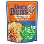 Uncle Bens Wholegrain Egg Fried Microwave Rice