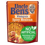 Uncle Bens Wholegrain Spicy Mexican Microwave Rice