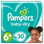 Pampers Baby Dry Size 6+ Nappies Economy Packs