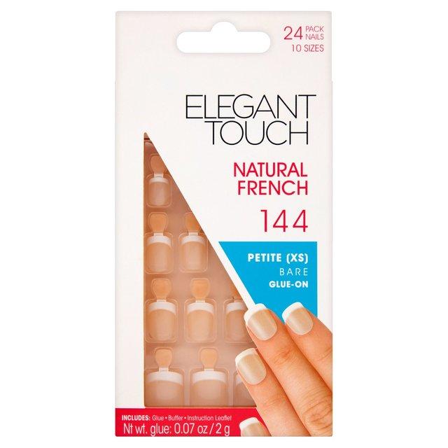 Morrisons: Elegant Touch 144 Petite Bare Natural False Nails ...