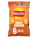 Walkers Roast Chicken Crisps