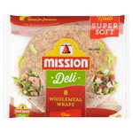 Mission Deli Wholemeal Wraps