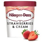 Häagen-Dazs Strawberries & Cream Ice Cream