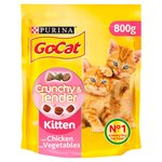 Go-Cat Crunchy and Tender Kitten Food Chicken