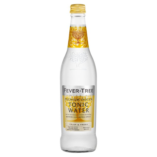 Fever Tree Indian Tonic Water. Delivered Chilled