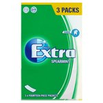 Wrigley Extra Spearmint Soft Gum Tablets