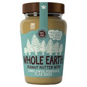 Whole Earth Peanut Butter with Seeds
