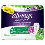 Always Discreet Small Plus Incontinence Pads