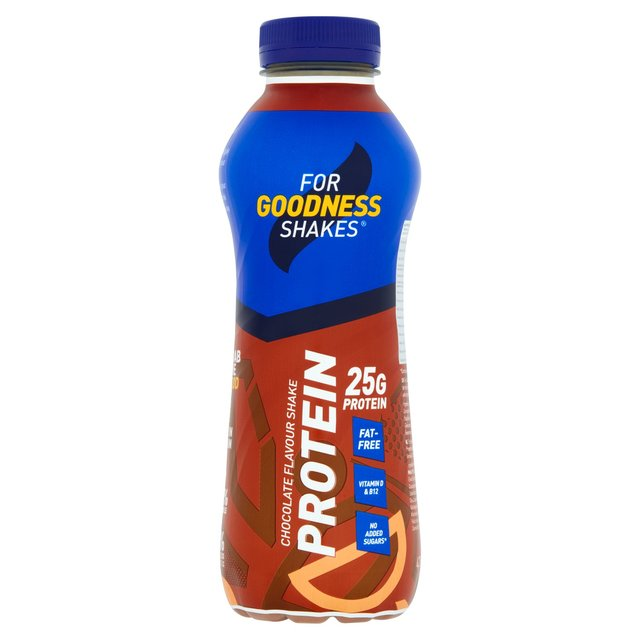 For Goodness Shakes Chocolate Protein Drink