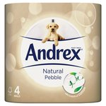 Andrex Natural Pebble Toilet Roll
