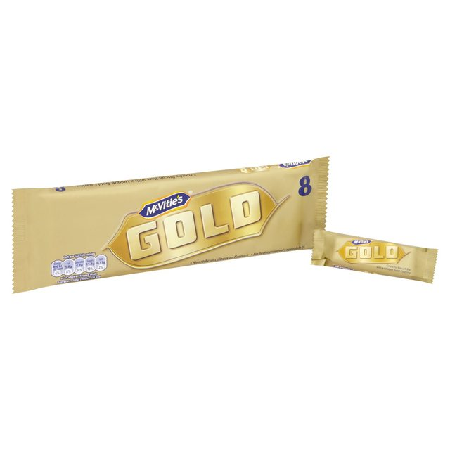 Mcvities Gold Bar 8 Pack