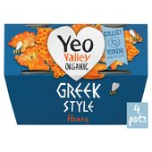 Yeo Valley Greek & Honey Yogurt