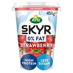 Arla skyr Fat Free Strawberry Yogurt