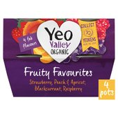Yeo Valley Fruit Favourites Yogurt