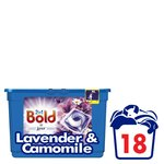 Bold 2in1 Pearls Lavender & Camomile Washing Capsules 18 washes