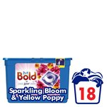 Bold 2in1 Sparkling Bloom & Yellow Poppy Washing Capsules