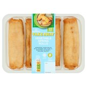 Morrisons Vegetable Spring Rolls