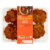 Morrisons Takeaway Onion Bhajis