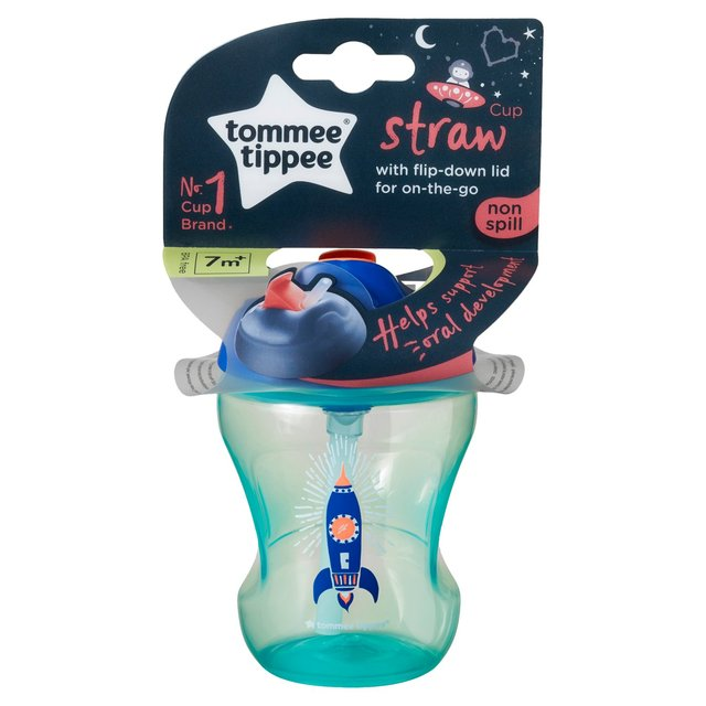 Tommee Tippee Training Straw Cup (Colours may vary)
