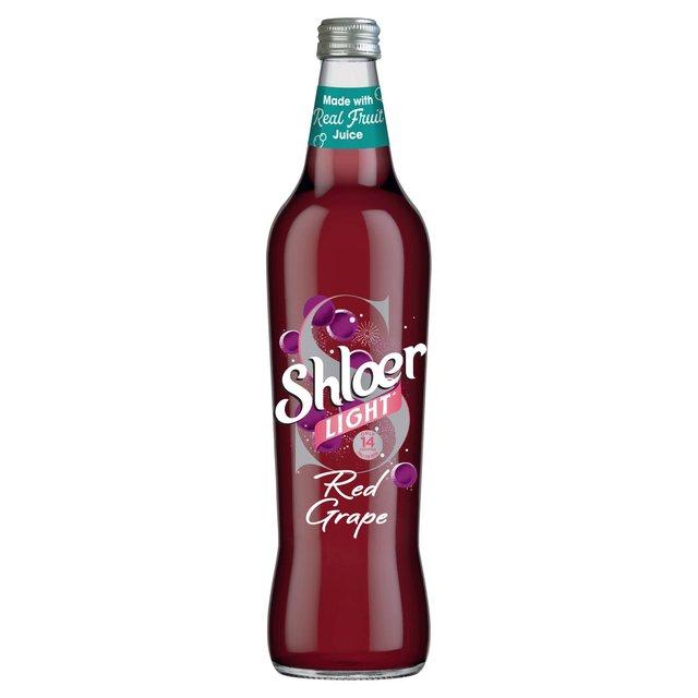 Shloer Light Red Grape Sparkling Juice Drink