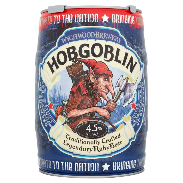 how to open a keg of hobgoblin