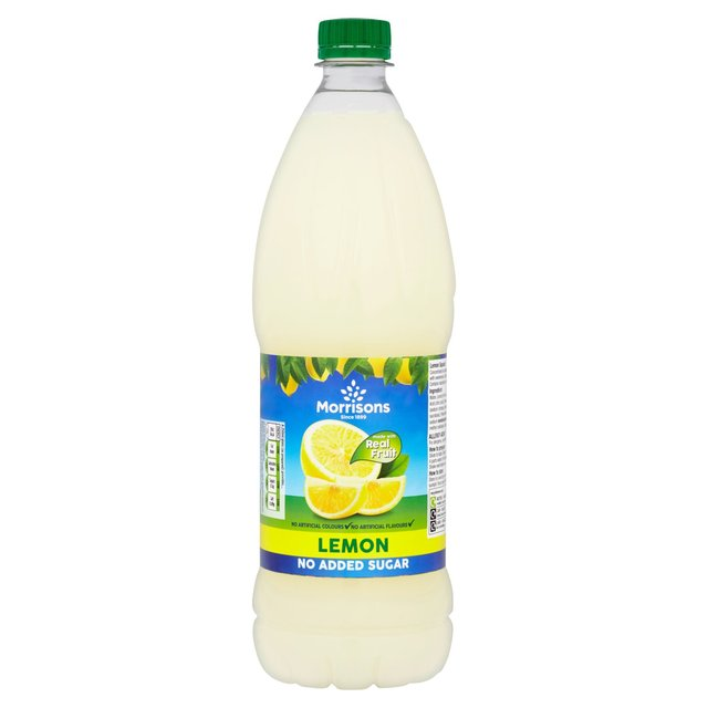 Morrisons No Added Sugar Lemon Single Concentrate Squash