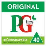 PG tips Original 40 Tea Bags