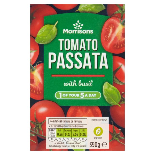 Morrisons Passata With Basil
